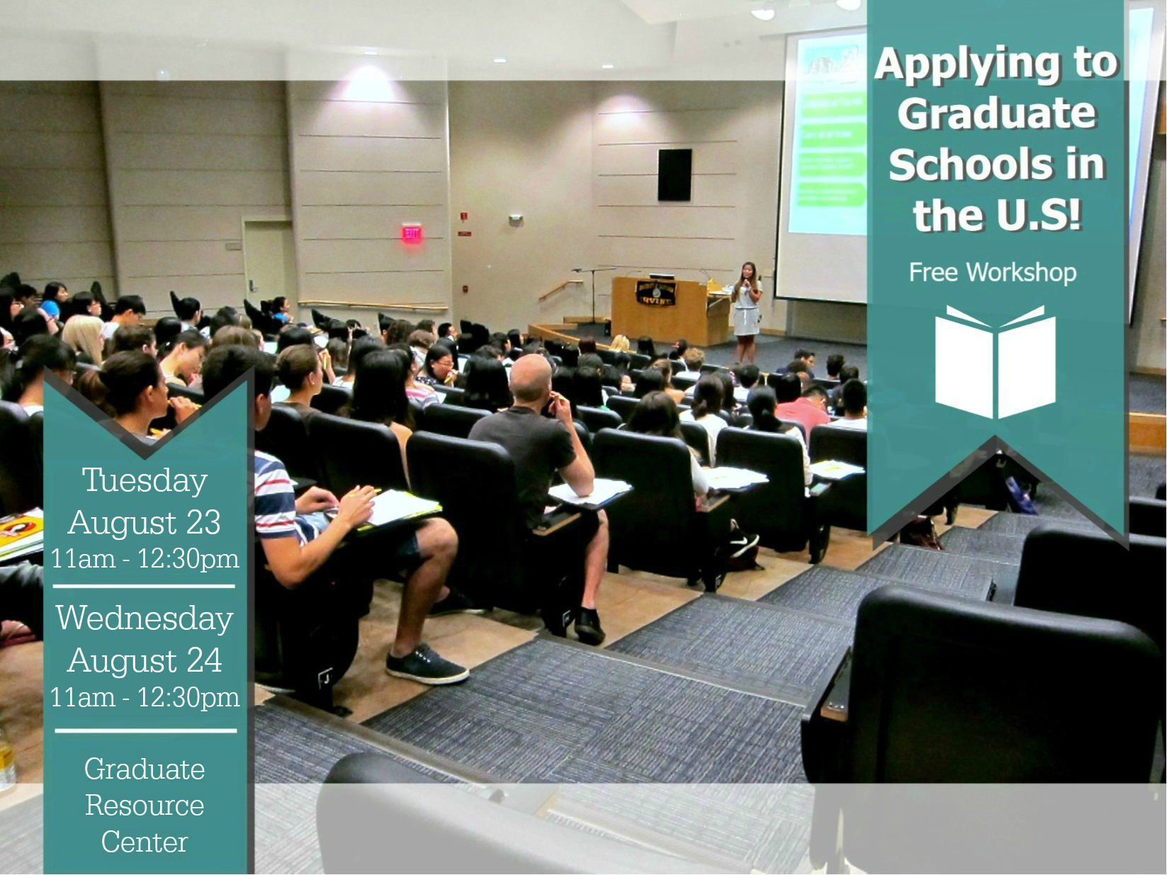 """""""apply To The Us Graduate Schools"""" Workshops. Physical Therapy Graduate Schools. Soccer Flyer Template Free. Graduate Assistant Football Jobs. Graduation Clothes For Guys. Instagram Ad Template. Seating Chart Template Word. Project Timeline Template Excel. University Of Wyoming Graduate Programs"""